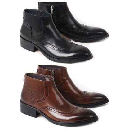 height increasing elevator boots