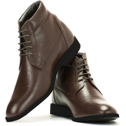 Genuine Leather Elevator Shoes