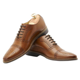 Elevator Leather Brogue Shoes