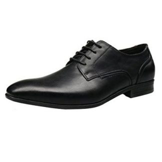Formal Black Elevator Shoes