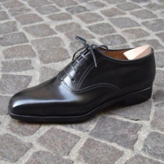Elevator Black Oxford Shoes