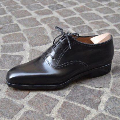 Elevator Black Oxford Shoes