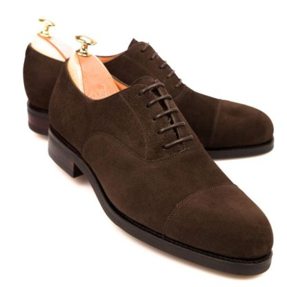 Suede Leather Elevator Shoes