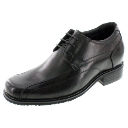 Leather Height Increasing Shoes