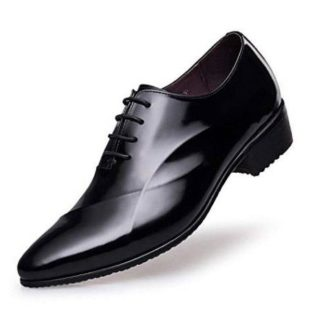 Leather Height Increasing Shoes - Genuine Leather Elevator Shoes