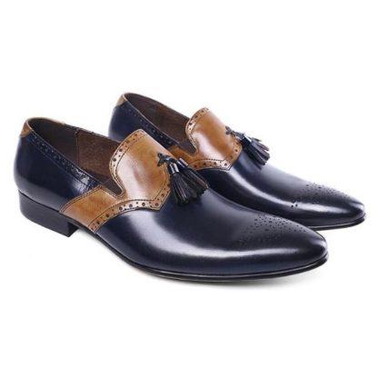 Height Increasing Tassel Shoes